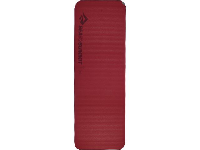 Sea to Summit Comfort Plus Zelfopblaasbare Mat Rechthoekig Large, rood